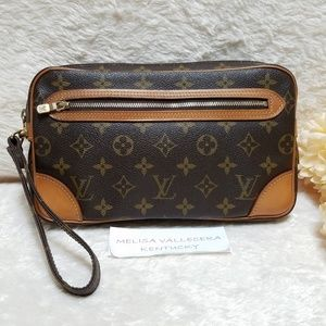 Louis Vuitton Marly Dragonne GM Clutch